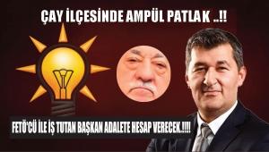 FETÖ'CÜ İLE İŞ TUTAN BAŞKAN ADALETE HESAP VERECEK.!!!!