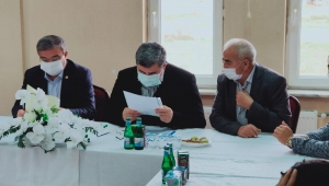 Özkaya ve AK Parti Heyetinden Beldelere Ziyaret