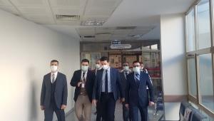 Serhat Korkmaz'dan Şuhut Devlet Hastanesine Ziyaret