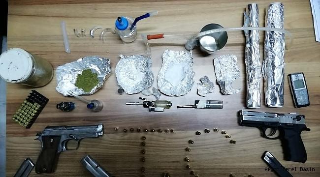 Dinar'da Büyük Uyuşturucu Operasyonu