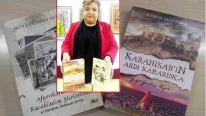 Emekli Öğretmen Mürşide Oklu Ayhan, iki yeni kitap yayınladı.