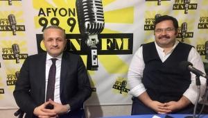 Müftü Kazancı Gün FM'in konuğu oldu