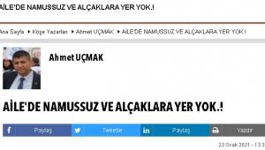 AİLE'DE NAMUSSUZ VE ALÇAKLARA YER YOK.!