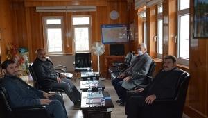 Başkan Sarı'dan İlçe Müftüsü Avcı'ya taziye ziyareti