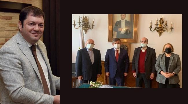 Davutoğlu'ndan TGC'ye ziyaret..