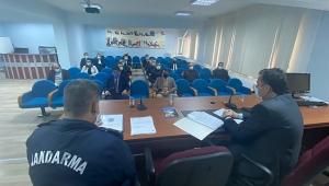 Dinar'da Deprem Toplantısı Yapıldı
