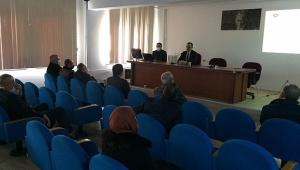 Dinar'da Yeni Yılın İlk Koruma Toplantısı