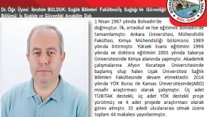 Dr. Öğretim Üyesi İbrahim BULDUK Kimdir.?