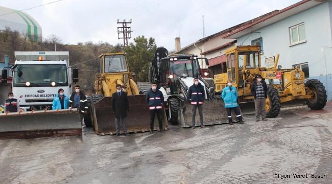 Emirdağ Belediyesi kışa hazır