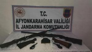 JANDARMA'DAN SİLAH SATICISINA OPERASYON.!