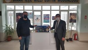 Kayseri'ye Yardım Yapan Hemşerimiz Dinar'ada yaptı