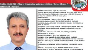 Prof. Dr. Hüdai İPEK Kimdir:
