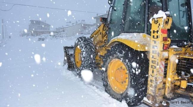 Şuhut Belediyesi Zorlu Kış Şartları İçin Hazır!