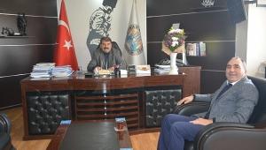 Tarım Kredi Kooperatifi Müdürü Arısoy dan Başkan Sarı ya ziyaret