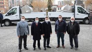 Vali Çiçek, TKDK Desteği ile Süt Toplama Aracı Alan Üreticiye Anahtarları Teslim Etti