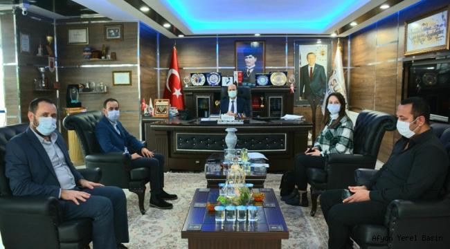 Yüntaş MYK'dan Başkan Bozkurt'a Ziyaret