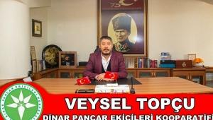 Başkan V. Topçu'dan Regaip Kandili Kutlama Mesajı