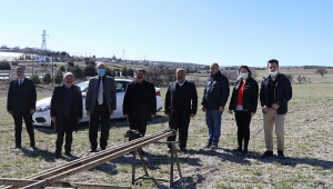 Dinar Oto Galericiler Sitesinde Zemin Etüt Çalışması Başladı