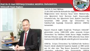 Prof. Dr. O. Gazi YİĞİTBAŞI Kimdir