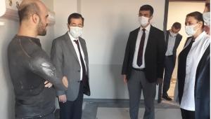 Sağlık Müdürü Korkmaz Afyonkarahisar Devlet Hastanesi'ni ziyaret etti