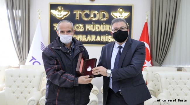 TCDD 7.Bölge Müdürlüğünde Emekliler için Hediye Töreni..