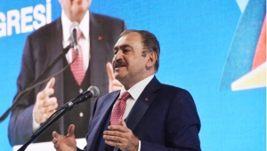 Veysel Eroğlu, AK Parti İstanbul İl Kongresine katılacak..