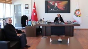 BARUTCU, SERTESER'İ ZİYARET ETTİ