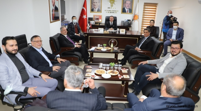 CHP'den AK Parti'ye 'hayırlı olsun' ziyareti..
