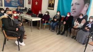 Dinar'da Ak Partili Kadınlar İlk Yüz Yüze Toplantılarını Yaptı