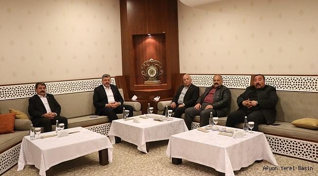 Dinar Heyeti Mv. Ali Özkaya'yı Ziyaret Etti