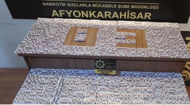 POLİS EKİPLERİ DURDURDUĞU ARAÇTA 3660 ADET UYUŞTURUCU HAP ELE GEÇİRDİ..