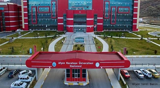 AFSÜ Hastanesinden açıklama