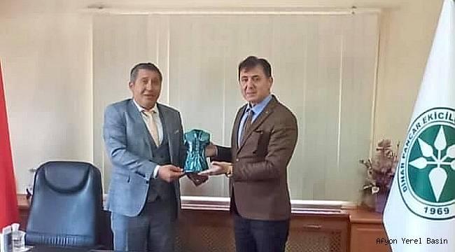 Emniyet Müdürü Polat'tan Topçu'ya Ziyaret