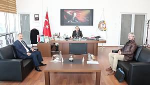 İSCEHİSAR MERMERCİLER DERNEĞİ'NDEN SERTESER'E ZİYARET