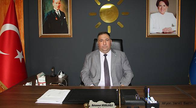İYİ Parti İl Başkanı Mısırlıoğlu'nun 23 Nisan Mesajı