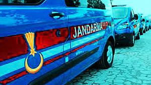 Jandarma Hırsızları Suç Üstü yakaladı