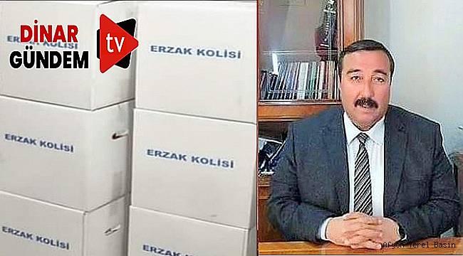 MHP Dinar'da Erzak Kolisi Dağıttı