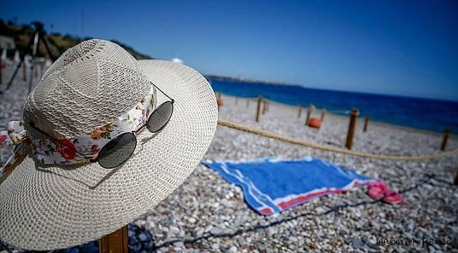 Turizm geliri geçen yılın aynı çeyreğine göre %40,2 azaldı