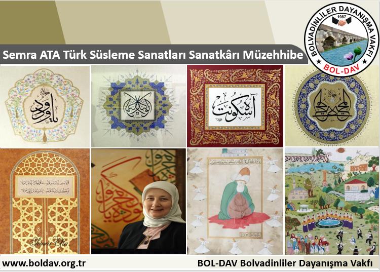 Türk Süsleme Sanatları Sanatkârı Müzehhibe Semra ATA Kimdir