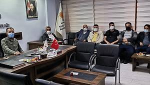 AK Parti Şuhut İlçe Teşkilatı Haftalık Olağan Toplantısını Gerçekleştirdi