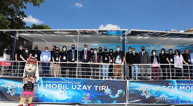 Ali Kuşçu Mobil Uzay Tırı Türkiye Turu'na Başladı