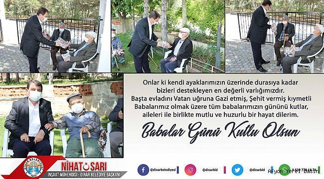 Başkan Sarı'dan Babalar Gününde anlamlı ziyaret