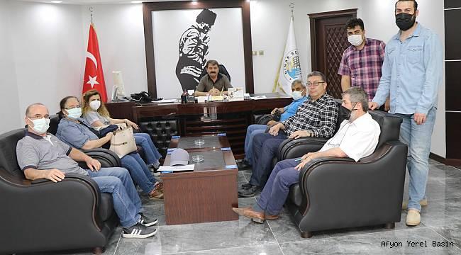 """Başkan Sarı, Dinarımızın """"Kanalizasyon Hattı projesi"""" yenileniyor"""