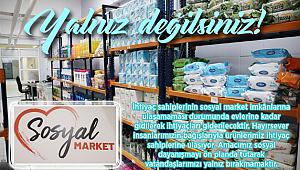 Emirdağ 'da 'Sosyal Market' hizmete girdi