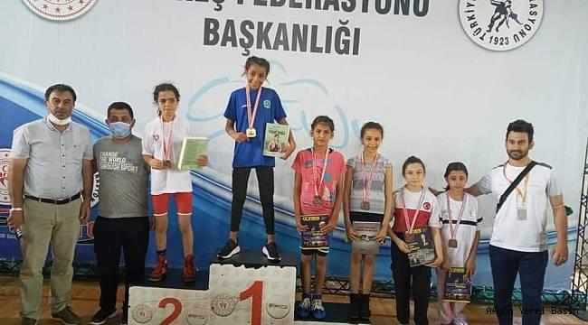 Fatma Yılmaz Türkiye Şampiyonu oldu..