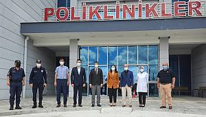 İl Sağlık Müdürü Uzm.Dr. Serhat Korkmaz Sinanpaşa'yı ziyaret etti