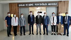 Orhan Koç, Afyonkarahisar Devlet Hastanesi'ni de ziyaret etti.