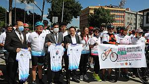 Vali Gökmen Çiçek Frigya Bisiklet Festivali'ni Başlattı