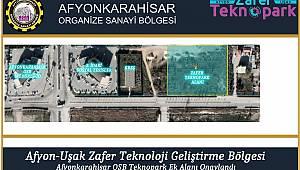 ZAFER TEKNOPARK'A OSB BÖLGESİNDE YENİ ALAN