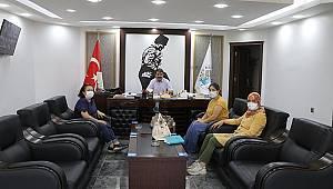 Afyonkarahisar DSİ'den Başkan Sarı'ya Ziyaret